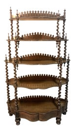 Image of Victorian Bookcases and Étagères