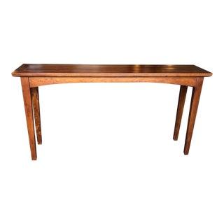 "60"" Walnut Altar Table"