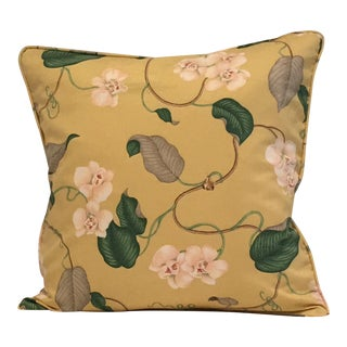 Lydia Irwin Design for P Kaufmann Pillow For Sale