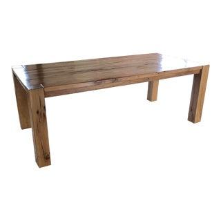 Modern Harvest Restoration Hardware Dining Table For Sale