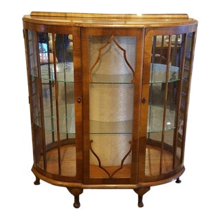 C.1930's Display Cabinet. Uk Import