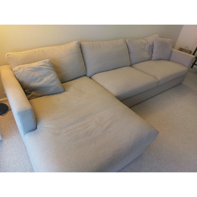 HD Buttercup Couch and Chaise Set - Image 4 of 8