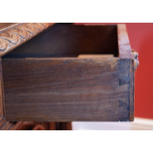 Carved French Oak Cabinet For Sale In New York - Image 6 of 13