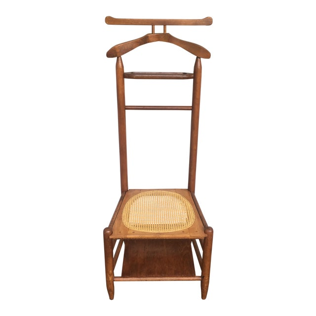 Antique Cane Seated Valet Chair For Sale - Antique Cane Seated Valet Chair Chairish