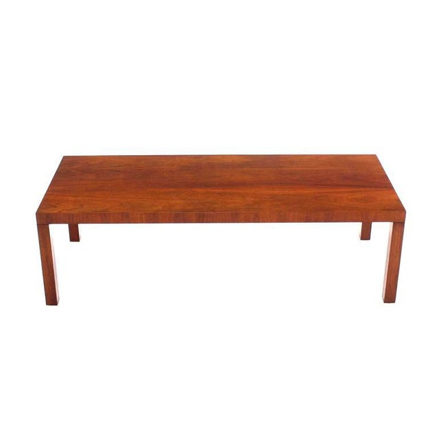 Danish Modern Directional Mid-Century Modern Expandable Walnut Coffee Table For Sale - Image 3 of 8