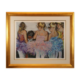 """Rita Asfour """"Tie My Shoe"""" Limited Edition Collectable Print For Sale"""