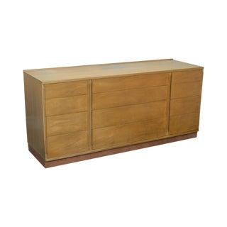 Dunbar Edward Wormley Blonde Mahogany Mid Century Modern Long Dresser