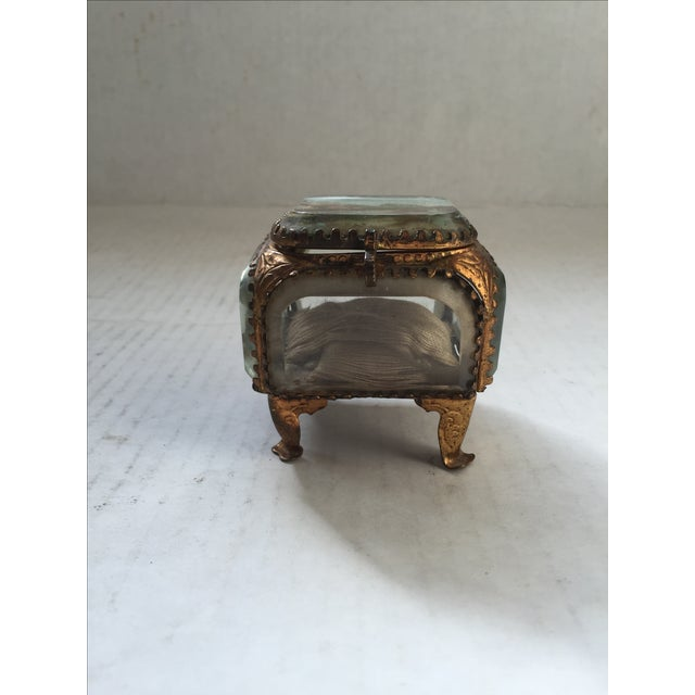 French Antique Alsatian Souvenir Ring Box For Sale - Image 3 of 6