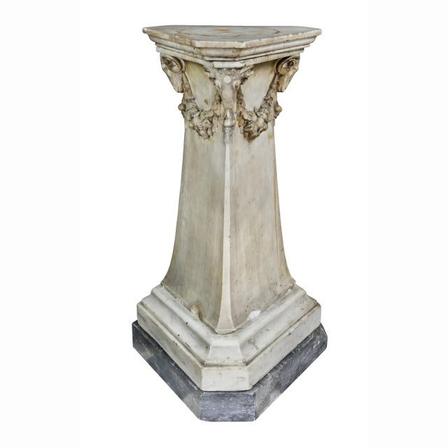Late 18th Century Louis XVI Marble Pedestal For Sale - Image 5 of 9