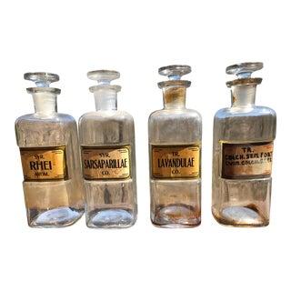 49 Vintage W.T.Co Pharmacy Bottles For Sale