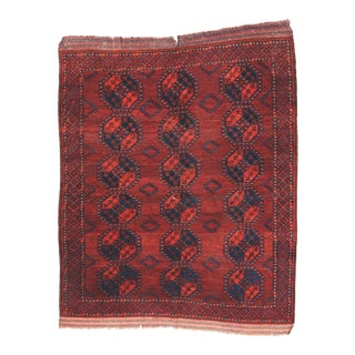 Antique Primitive Ersari Rug For Sale
