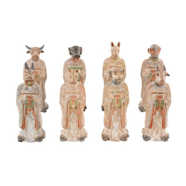 Antique Chinese Zodiac Dog Figurine - Image 9 of 9