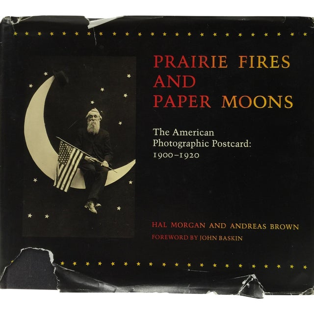 Prairie Fires and Paper Moons 1981 Hardcover Book For Sale