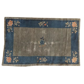 "Antique Peking Rug - 3'1"" X 4'9"" For Sale"