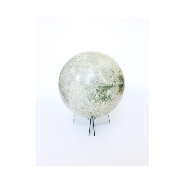 Mid Century Moon Globe - Image 2 of 5