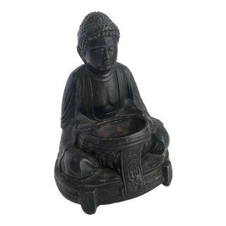 Vintage Buddha Statue Incense Burner