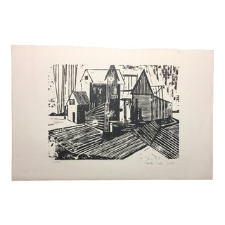 Woodblock Print Carole Cole Limited-Edition, 2005 For Sale