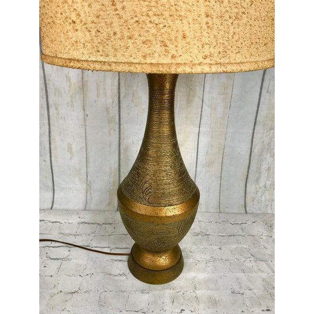 Vintage mid century modern faip bronze chalkware table lamp retro vintage mid century modern faip bronze chalkware table lamp retro light image 3 of aloadofball Choice Image
