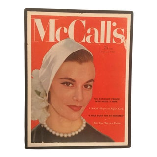 1950s Vintage McCall's Magazine Cover For Sale