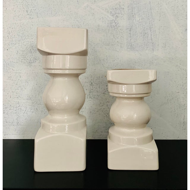 Mid-Century Modern Vintage Mid Century Modern Vases - a Pair For Sale - Image 3 of 6