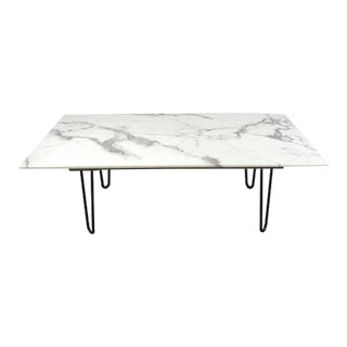 1970s Italian Marble Coffee Table For Sale