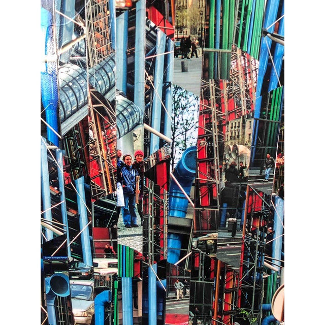 Contemporary Photography Collage by Serge Mendjisky, Beaubourg For Sale - Image 3 of 5