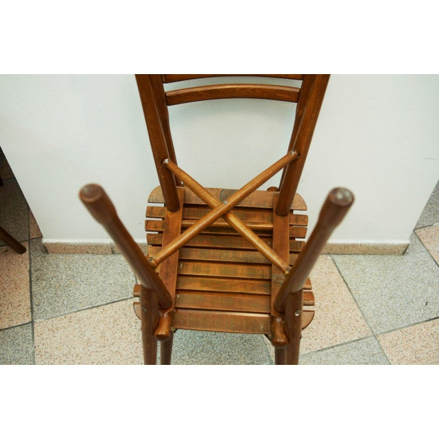 Antique garden chair by J. & J. Kohn, 1900 For Sale - Image 6 of 11