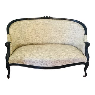 Early 20th Century Vintage Settee For Sale