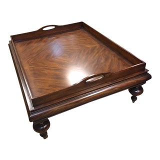 Restoration Hardware Estate Tray Coffee Table For Sale