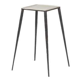 Century Lift Square Accent Table For Sale