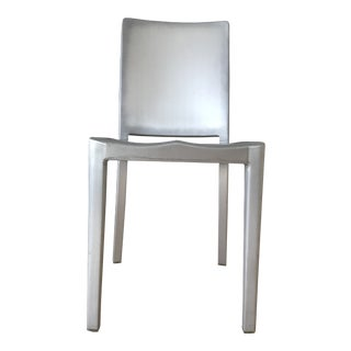 Philippe Starck Platinum Aluminum Hudson Chairs - Set of 6 For Sale