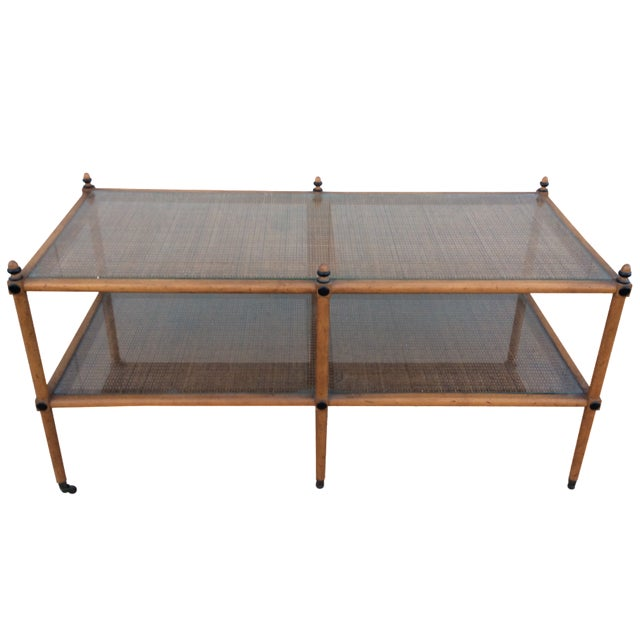 1960's Hollywood Regency Two Tiered Console - Image 1 of 11