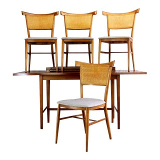 1950s Vintage Paul McCobb for Winchedon Perimeter Group Dining Set - 5 Pieces For Sale