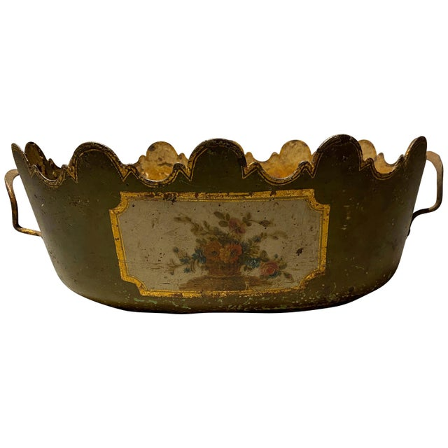 """Louis XVI Tole Monteith """"Verriere"""" For Sale - Image 11 of 11"""