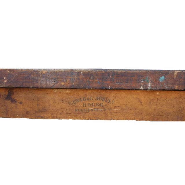 Antique Farm Table For Sale In Los Angeles - Image 6 of 8