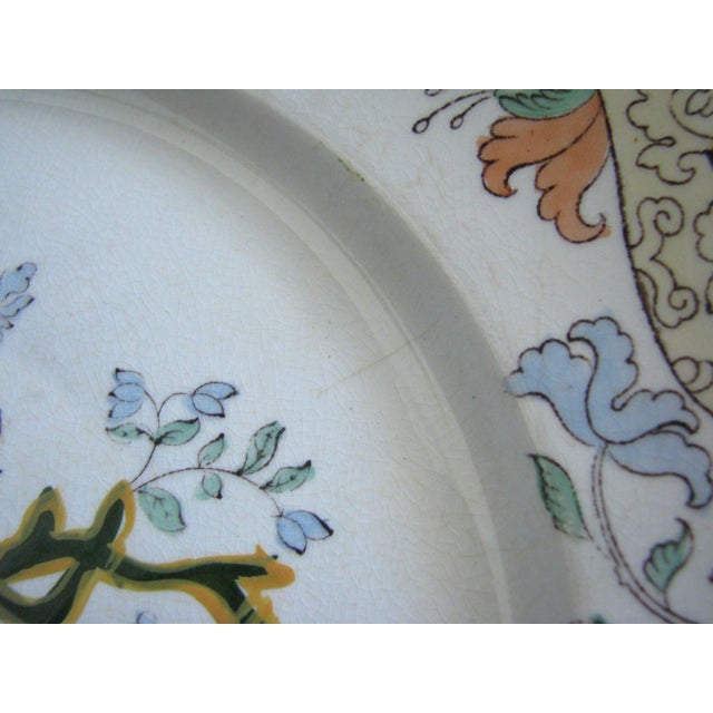 Antique Ashworth Brothers Hanley English Dinner Plates - Set of 5 For Sale In Chicago - Image 6 of 10