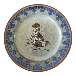 Royal Doulton Cecil Aldin Hound Plate, Signed For Sale