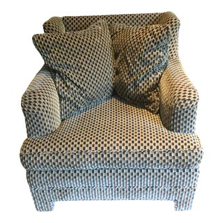Brunschwig and Fils Club Chair For Sale