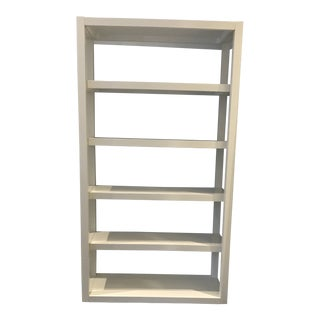 West Elm White Bookcase