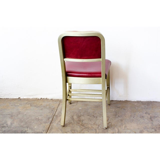 Refinished GoodForm Aluminum Side Chairs - Set of 6 For Sale In Los Angeles - Image 6 of 6