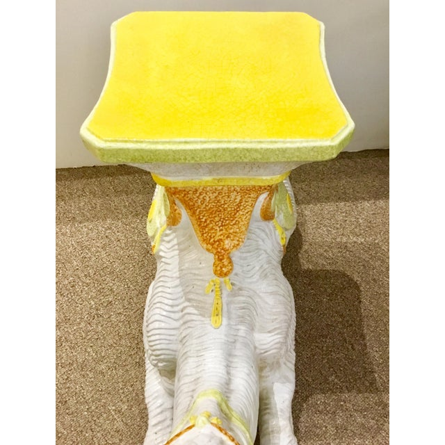Traditional Vintage Italian Terracotta Camel For Sale - Image 3 of 8