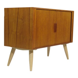 Kai Kristiansen Teak Record or Entry Cabinet For Sale