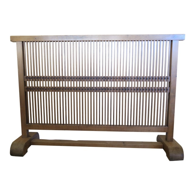 Antique Japanese Window Screen - Image 1 of 8
