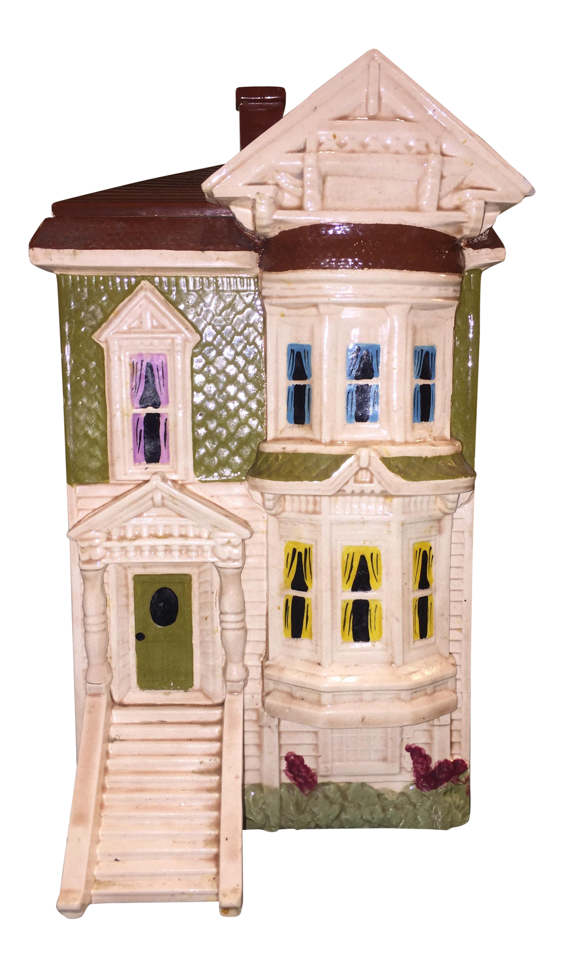 San Francisco Victorian Home Cookie Jar   Image 1 Of 11