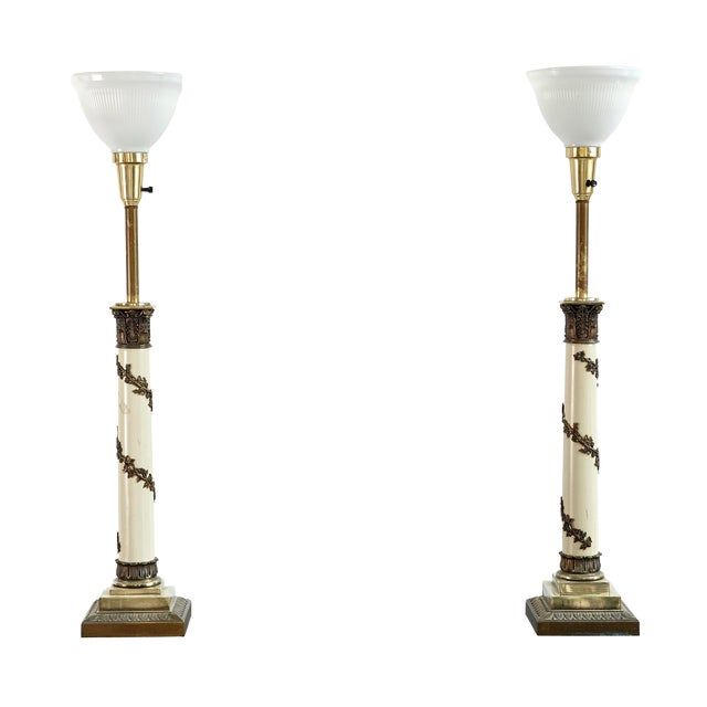 Set of Hollywood Regency Lamps - Image 1 of 7