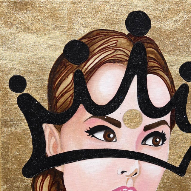 Combining contemporary portraiture with his trademark style graffiti crowns, Brian Smith's figurative mixed media works...