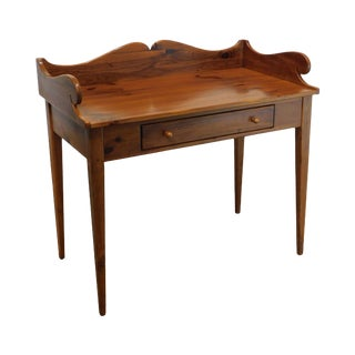 Ethan Allen Country Craftsman Pine Writing Desk For Sale