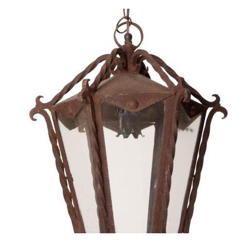 Collected in Italy, circa 1900. You will find lanterns much like this over many exterior doorways of old homes in...
