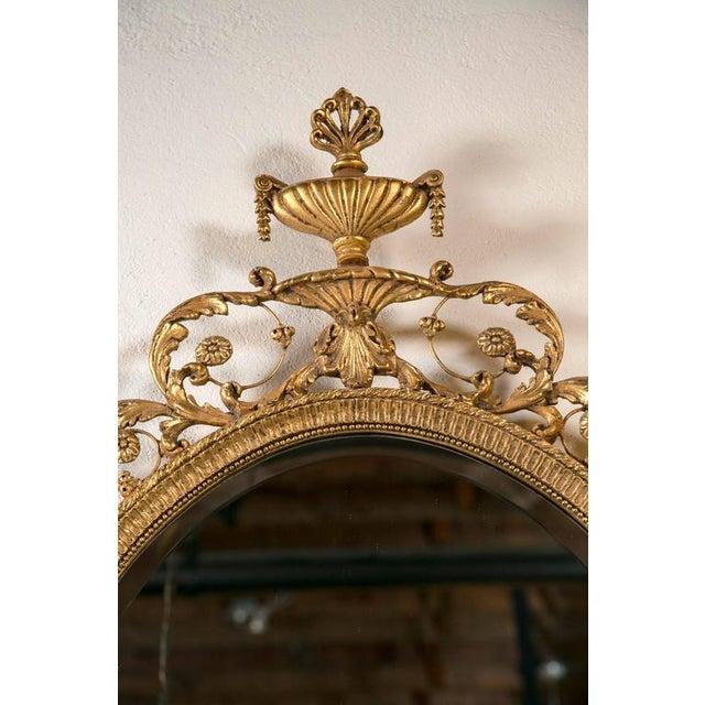 Hollywood Regency Giltwood Adams Style Friedman Mirrors - Pair For Sale - Image 3 of 6