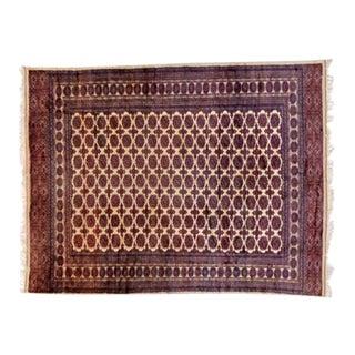 Leon Banilivi Vintage Bokhara Rug For Sale